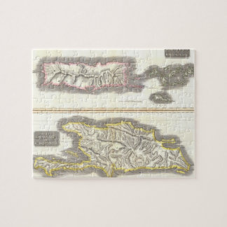 Vintage Map of Caribbean Islands (1815) Jigsaw Puzzle
