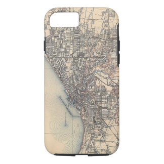 Vintage Map of Cleveland (1904) iPhone 8/7 Case