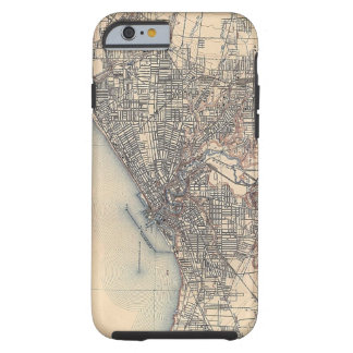 Vintage Map of Cleveland (1904) Tough iPhone 6 Case