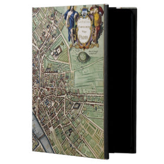 Vintage Map of Paris iPad Air Cover
