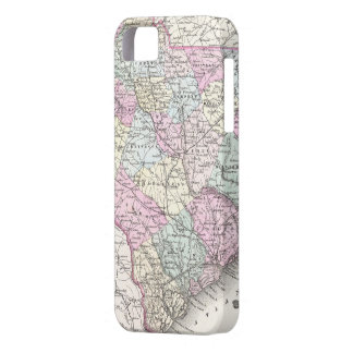 Vintage Map of South Carolina (1855) iPhone 5 Cover