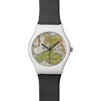 Vintage Map of Wales and Anglesey 1579 Watch