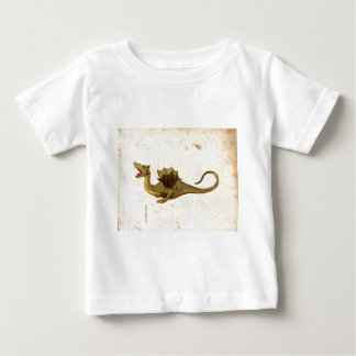 Vintage Medieval Dragon Design Baby T-Shirt