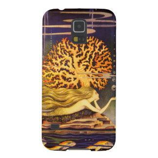 Vintage Mermaid Galaxy S5 Cases