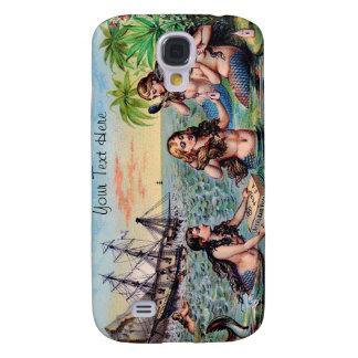 Vintage Mermaid iPhone Case