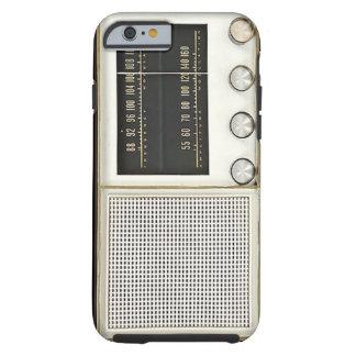 Vintage Metal Radio Tough iPhone 6 Case