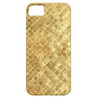 Vintage Mid Fifties gold texture Barely There iPhone 5 Case