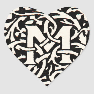 M Logo Stickers | Zazzle NZ