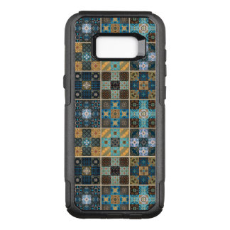 Vintage mosaic talavera ornament OtterBox commuter samsung galaxy s8+ case