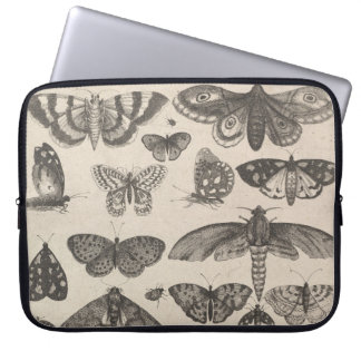 Vintage Moth Butterfly Insect Nature Laptop Sleeve