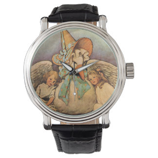Vintage Mother Goose Children Jessie Willcox Smith Watch