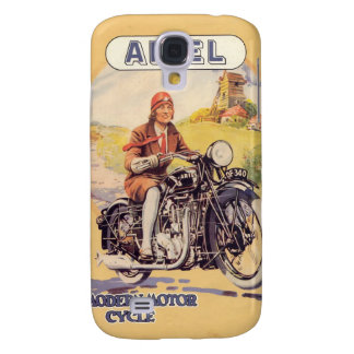 Vintage Motorcycle Poster Galaxy S4 Case