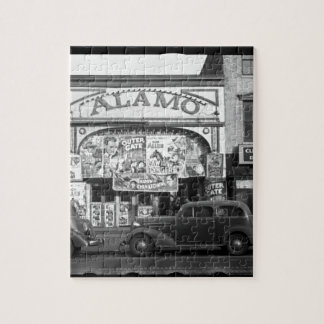 Vintage Movie Theater Jigsaw Puzzle
