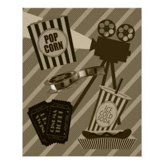 Vintage Movie Theatre Poster