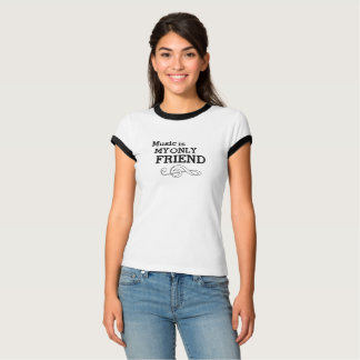 Vintage Music Is My Only Friend Ringer T-Shirt