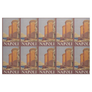Vintage Napoli (Naples) Italy customizable fabric