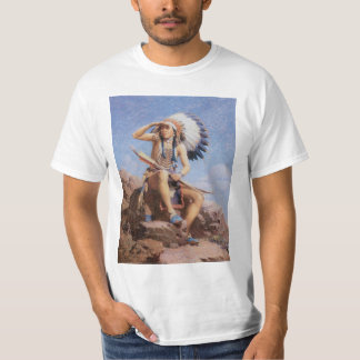 Vintage Native American Indian, The Scout by Leigh Shirts