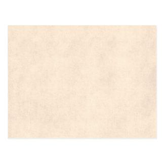 Vintage Neutral Parchment Beige Antique Paper Temp Postcard