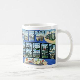 Vintage New Jersey Mug