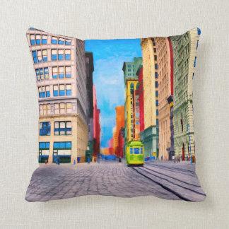 Vintage New York City - Union Square Cushion