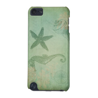 Vintage Ocean Animals and Seashells iPod Touch (5th Generation) Case