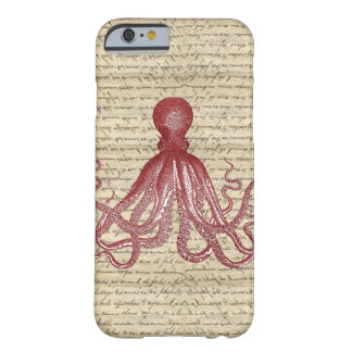 Vintage octopus barely there iPhone 6 case