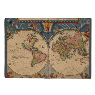 Vintage old world and Antique Maps Covers For iPad Mini