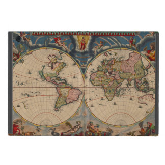 Vintage old world map covers for iPad mini