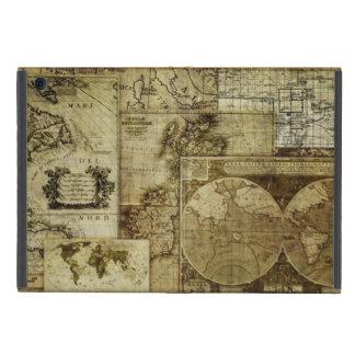 Vintage old world Maps iPad Mini Cover