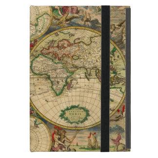 Vintage old world Maps iPad Mini Covers