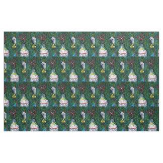 Vintage Ornaments Fabric