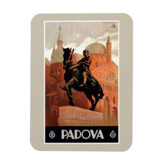 Vintage Padua Padova Italian travel Magnet