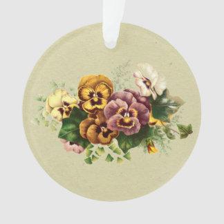 Vintage Pansies Bouquet