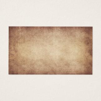 Vintage Parchment Antique Paper Background Custom Business Card