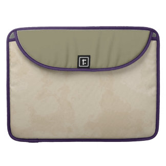 Vintage Parchment Look Macbook Sleeve Sleeve For MacBooks