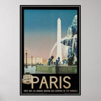 Vintage Paris France - Print