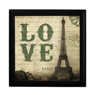 Vintage Paris Gift Box