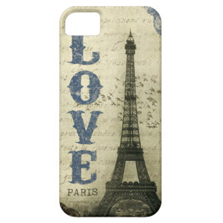 Vintage Paris iPhone 5 Case
