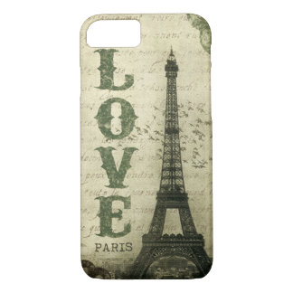 Vintage Paris iPhone 8/7 Case