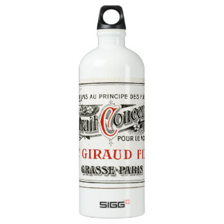 Vintage Paris Perfume Label SIGG Traveller 1.0L Water Bottle