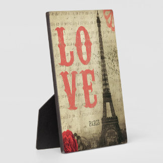 Vintage Paris | Pink Plaque