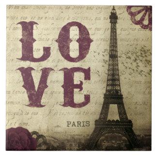 Vintage Paris Tile