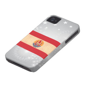 Vintage Pattern Polynesian Flag iPhone 4 Case-Mate Cases