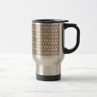 Vintage pattern travel mug