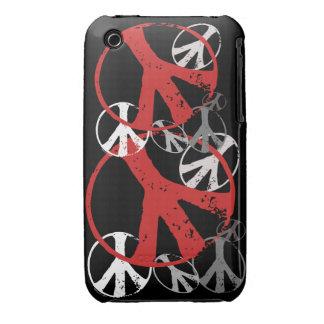 Vintage Peace Symbols iPhone 3 Cases
