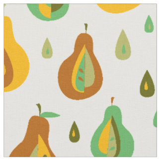 Vintage Pears Fabric