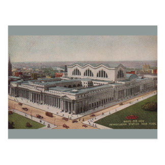 Vintage Pennsylvania Station New York Postcard