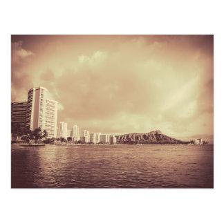 Vintage Photo Of Hawaii Beach Postcard