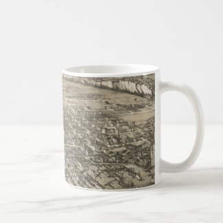Vintage Pictorial Map of Hoboken NJ (1881) Coffee Mug
