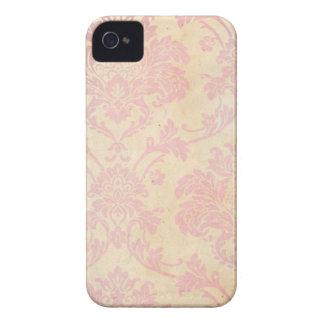 Vintage Pink Damask Case-Mate iPhone 4 Case
